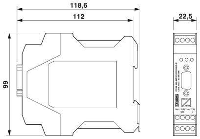 PSM-ME-RS232-SERIAL-ISOLATOR