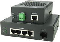 Estensori Ethernet 10/100/1000 per Temperature Industriali