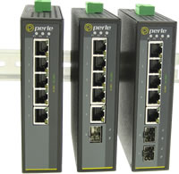 Switch Ethernet Gigabit industriale a 5 porte