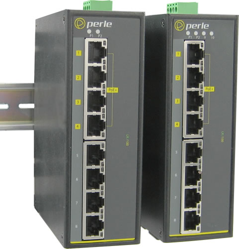 Switch PoE industriale da 8 porte